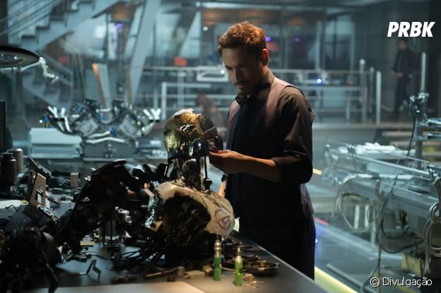 "Homem de Ferro, de ""Os Vingadores 2: A Era de Ultron"""