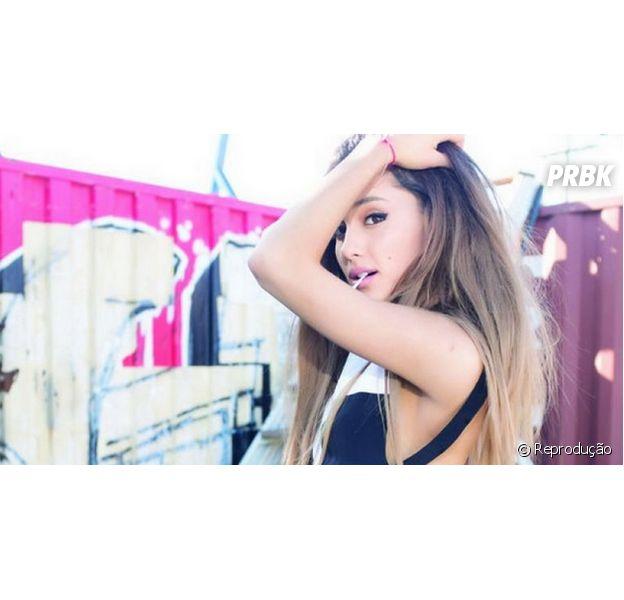 """Ariana Grande já está de volta aos estúdios para produzir novos hits, como """"Problem"""""""