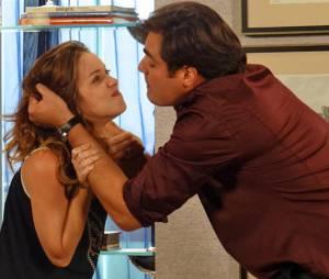 """Marcos (Thiago Lacerda) nos últimos momentos mostrou quem realmente é para Laura (Nathalia Dill) em """"Alto Astral"""""""