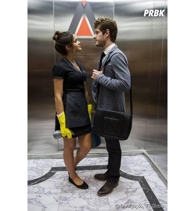 """O casal Marizete (Bruna Marquezine) e Benjamin (Maurício Destri) vai te encantar em """"I Love Paraisópolis"""""""