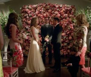 "Em ""Revenge"", Emily (Emily VanCamp) e Jack (Nick Wechsler) se casaram!"