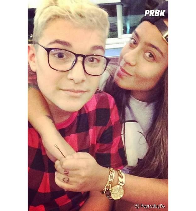 MC Gui e Rafaella Santos, irmã de Neymar