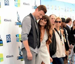 """Lea Michele e Cory Monteith começaram a namorar nos bastidores de """"Glee"""""""