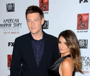 Lea Michele e Cory Monteith assumiram namoro em 2012