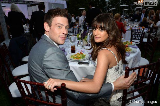 """Lea Michele faz homenagem ao ex-namorado Cory Monteith, de """"Glee"""""""