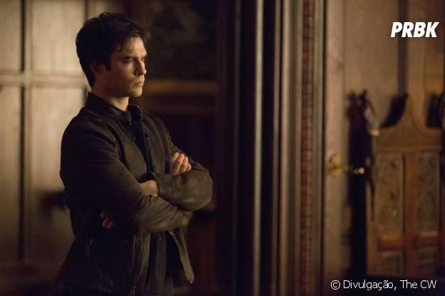 """Como será que Damon (Ian Somerhalder) vai ficar sem a Elena (Nina Dobrev) em """"The Vampire Diaries""""?"""