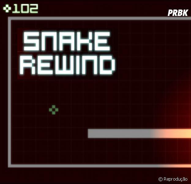 """O clássico jogo da cobrinha está de volta! Game """"Snake Rewind"""" já está disponível para smartphones!"""