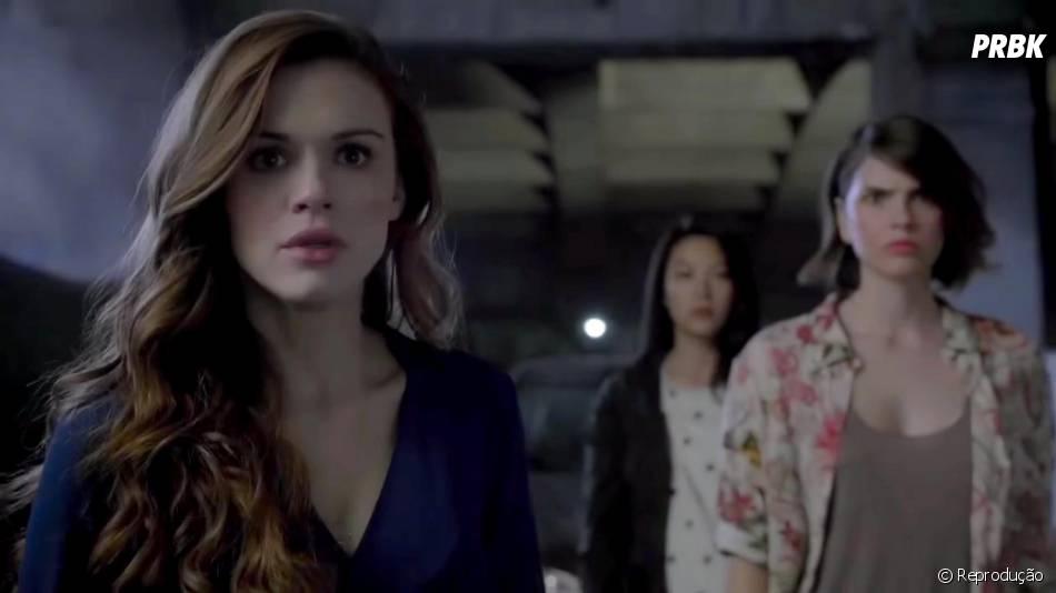 "Lydia (Holland Roden) se prepara para o pior em ""Teen Wolf"""