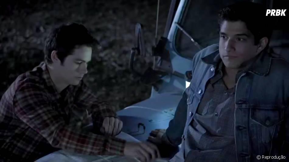 """Em """"Teen Wolf"""", Scott (Tyler Posey) se preocupa com o que pode acontecer"""
