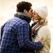 """Novela """"Sete Vidas"""": Júlia (Isabelle Drummond) e Felipe se beijam durante passeio romântico"""