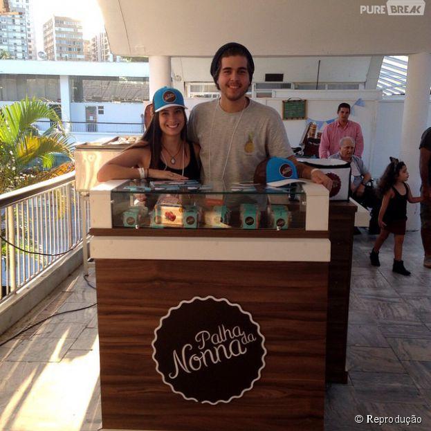 Mariana Paranhos e Diogo Boavista são os jovens empreendedores que criaram a bem-sucedida Palha da Nonna