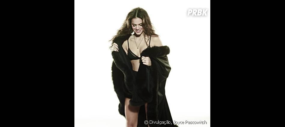 Bruna Marquezine sensualiza até não poder mais com um conjuntinho todo preto!