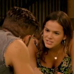 """Te contei? Novela """"I Love Paraisópolis"""", Mari (Bruna Marquezine) ameaça Grego (Caio Castro)!"""