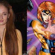 "Sophie Turner, de ""Game of Thrones"", comenta papel da Jean Grey em ""X-Men"": ""É muito excitante!"""