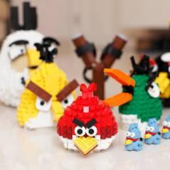 """""""Angry Birds"""" vai virar Lego! Confira vários outros personagens em miniatura do famoso brinquedo!"""
