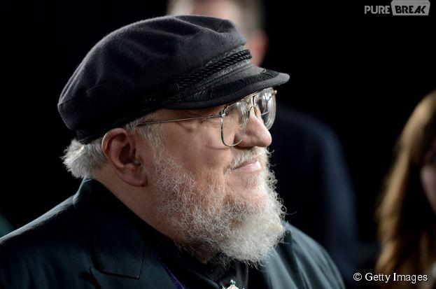 """George R. R. Martin está trabalhando em novo livro de colorir inspirado na série """"Game of Thrones"""""""