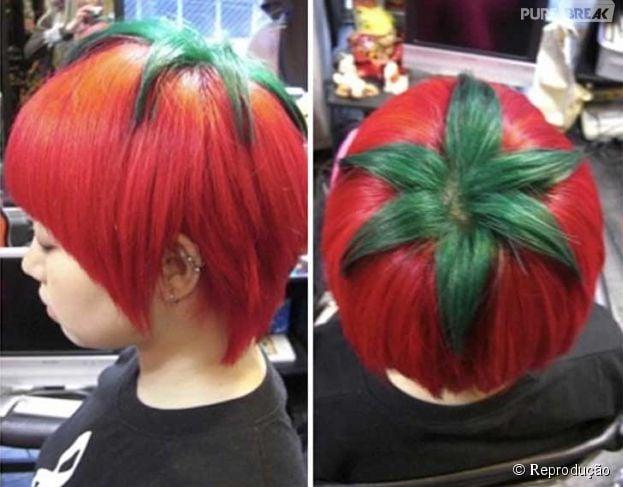 Pra quem é mais saudável: corte de cabelo estilo tomate