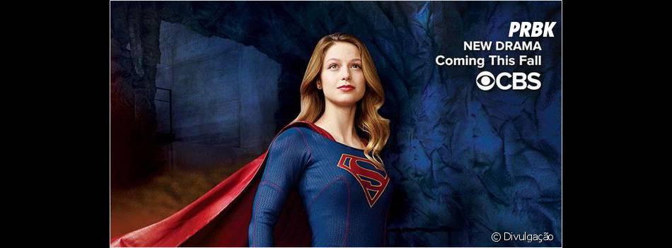 """""""Supergirl"""" vai ser transmitida pela CBS e conta com Melissa Benoist no papel principal"""