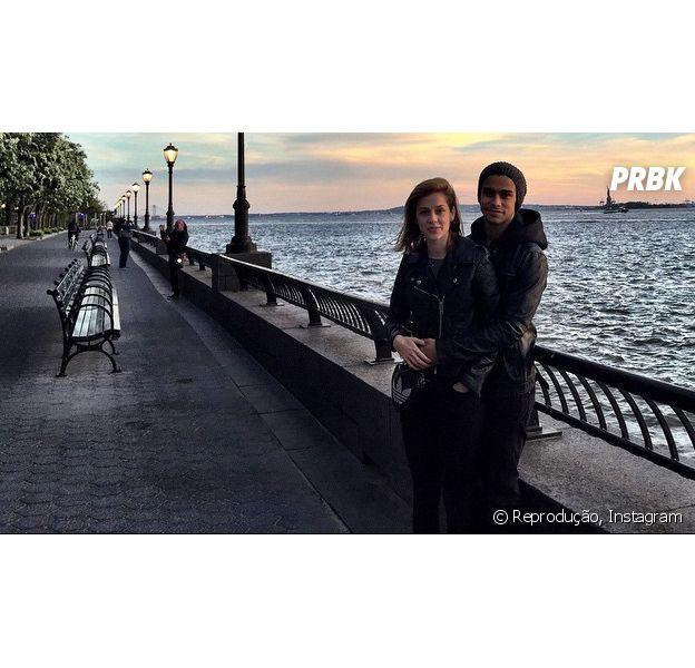 Sophia Abrahão e Sérgio Malheiros têm aptidão pra fotos, né?