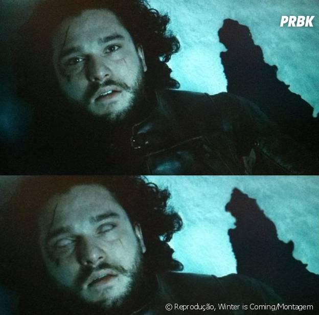 """Em """"Game of Thrones"""", Jon Snow (Kit Harington) morre ou não?"""