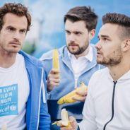 Liam Payne, do One Direction, vira jogador de tênis por um dia para estrelar campanha da Unicef!