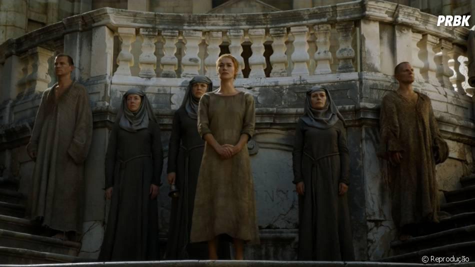 """Em """"Game of Thrones"""", Cersei (Lena Headey) teve um momento intenso no season finale"""