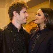 """Bruna Marquezine e Maurício Destri, de """"I Love Paraisópolis"""", são flagrados aos beijos. Tá rolando?"""