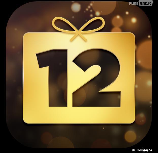 """""""12 dias de presente"""" é um app da Apple que te da coisas de graça"""