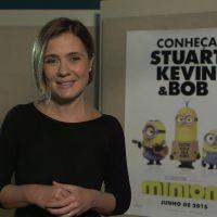 """Filme """"Minions"""": Adriana Esteves fala sobre como foi dublar a vilã Scarlet Overkill"""