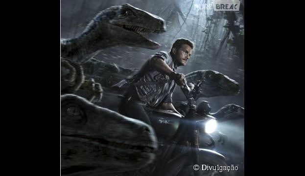 """""""Jurassic World"""" conta com Chris Pratt como o protagonista"""