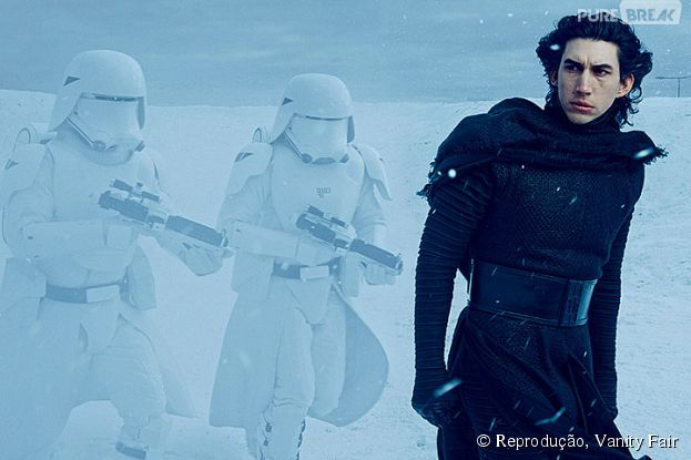 "Em ""Star Wars VII"", Adam Driver vai interpretar o vilãoKylo Ren"