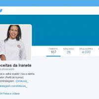 """No """"MasterChef Brasil"""": Perfil no Twitter zoa Iranete e suas receitas pra lá de """"complicadas"""""""