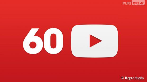 Youtube já reproduz vídeos em alta qualidade de 60 fps nos smartphones com Android e iOS