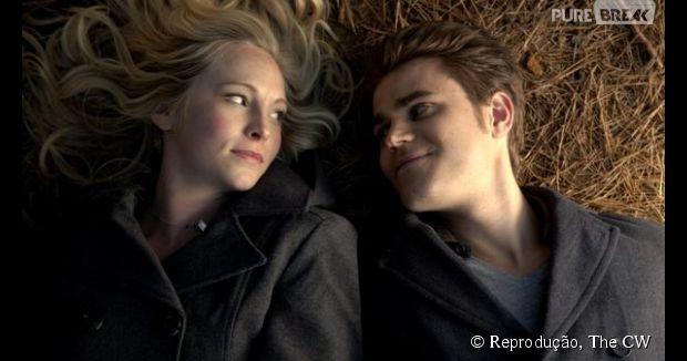"""Em """"The Vampire Diaries"""": Após beijo Steroline, Stefan e Caroline podem ficar juntos na sétima temporada"""