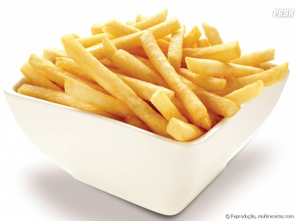 Em casa ou no cinema, batata frita é uma guloseima super fácil de conseguir