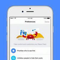 Facebook permite que usuários personalizem o Feed de Notícias