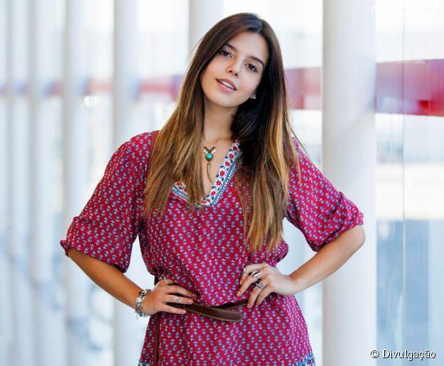 """Giovanna Lancellotti como Luana em """"A Regra do Jogo"""""""