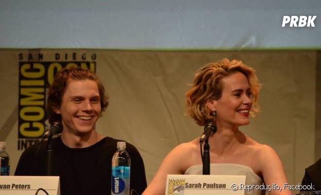 """O elenco de """"American Horror Story: Hotel"""" conversou com os fãs na Comic-Con 2015!"""