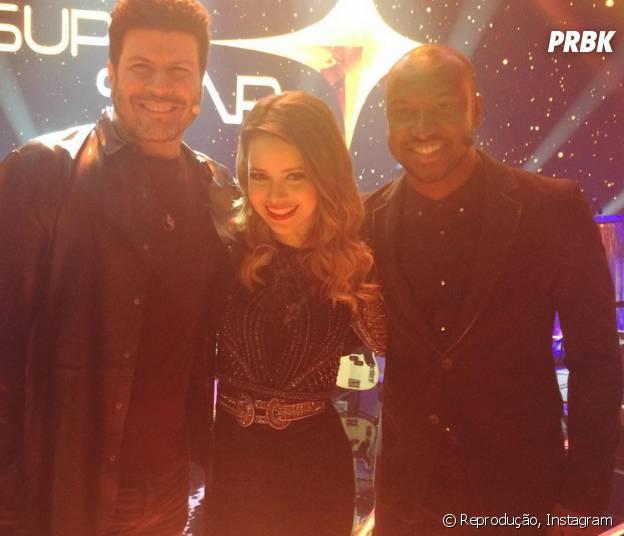 """Thiaguinho, Sandy e Paulo Ricardo foram jurados da segunda temporada do """"SuperStar"""""""