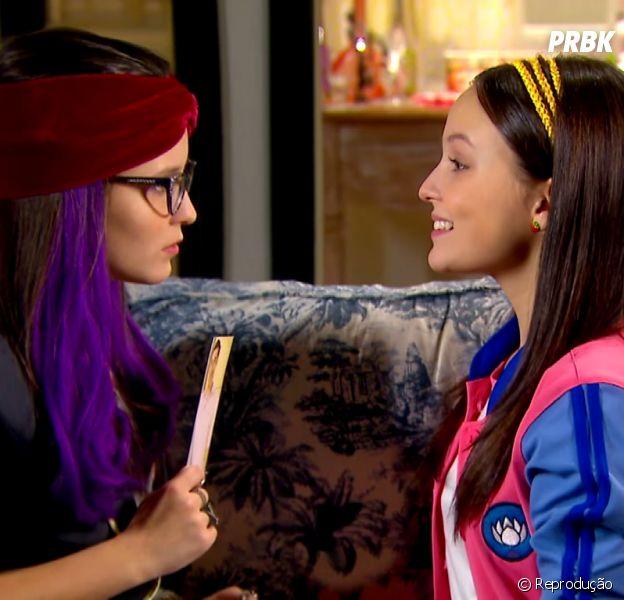 """Em """"Cúmplices de um Resgate"""", Larissa Manoela vive as gêmeas Isabela e Manoela"""