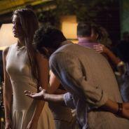 """Novela """"Verdades Secretas"""": Alex (Rodrigo Lombardi) dá mais atenção para Angel na frente de Carolina"""