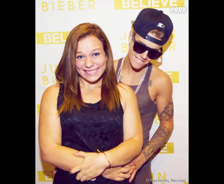 Justin Bieber aproveitou para tirar uma casquinha?
