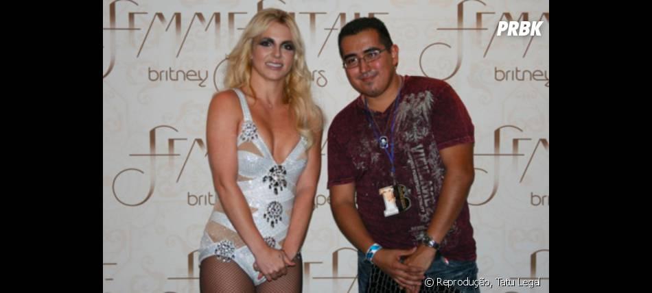 Britney Spears gostaria de estar em qualquer lugar, menos nessa foto