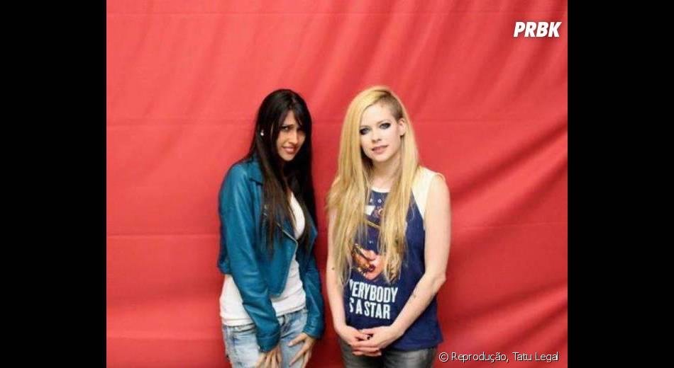 Nem a Avril Lavigne, nem a fã curtiram o encontro!