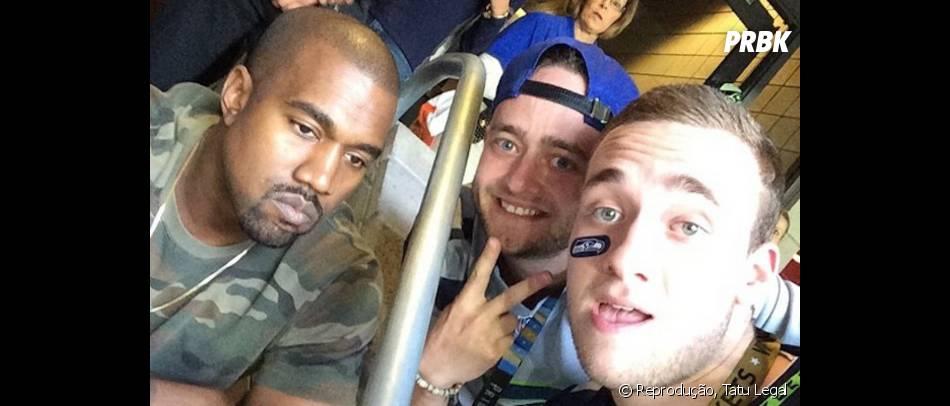 Kanye West sempre muito amigável, né?