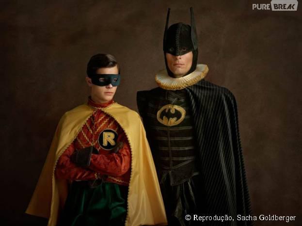 Esse estilou combinou com Batman e Robin, não?