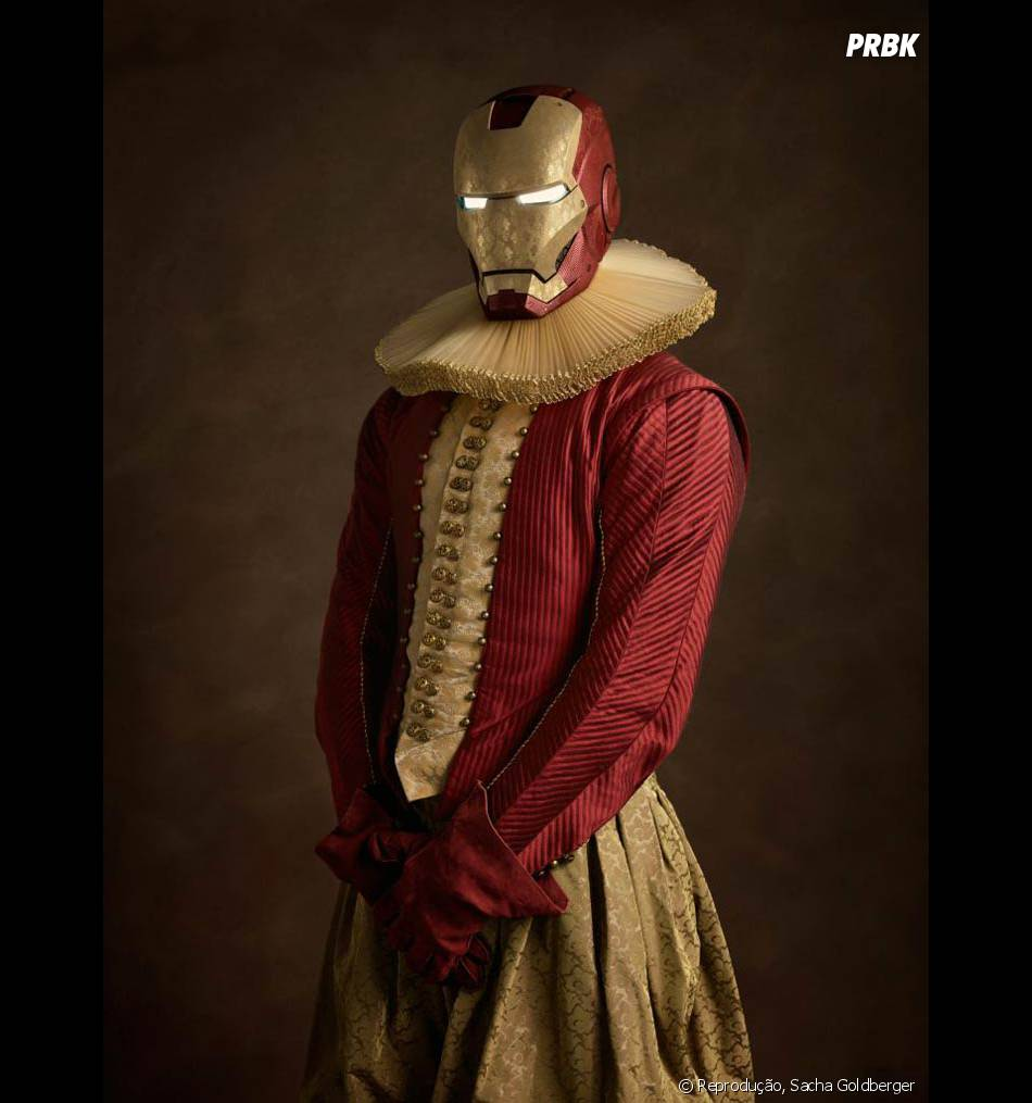 O Homem de Ferro até que combina com esse tom mais clássico, né?