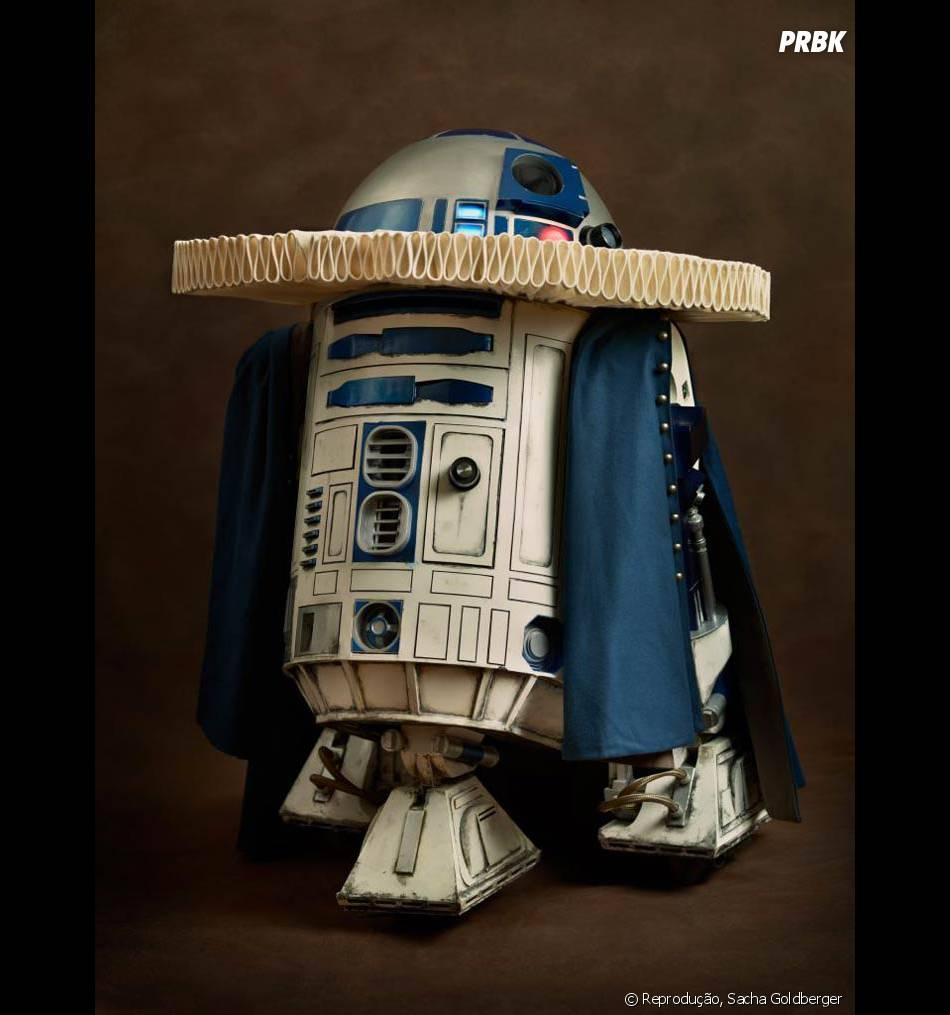 """Até o R2D2 de """"Star Wars"""" apareceu nessa montagem. Mas será que ele existiria no século 17?"""