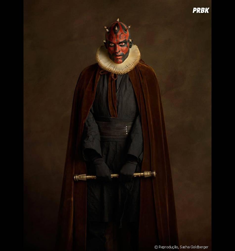 """Não importa a época, o Darth Maul de """"Star Wars"""" sempre dará medo!"""