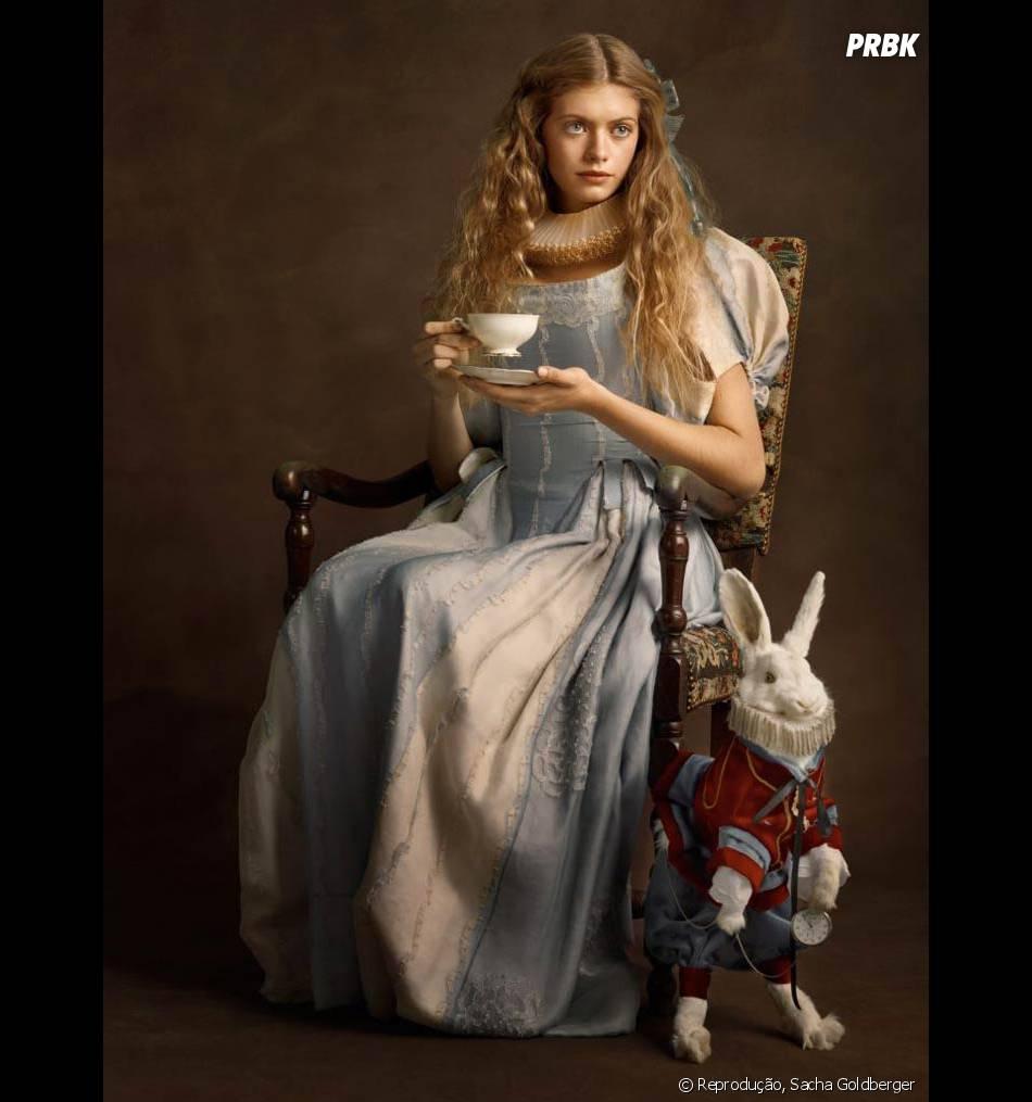A Alice nem ficou tão diferente do que estamos acostumados a ver